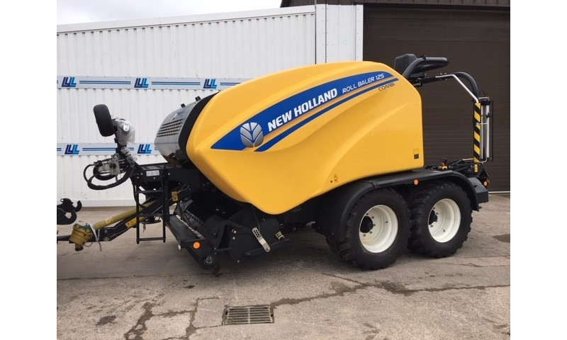 New Holland Combi 125 Round Baler